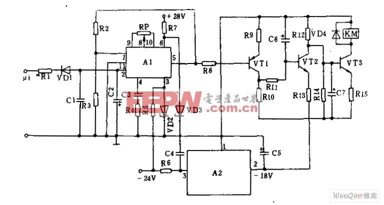 100KHz-100MHz噪声消除电路图