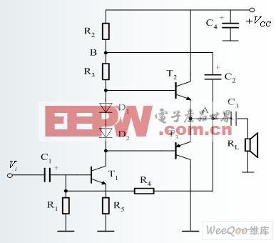 容 RC 耦合电压放大器电路图 -综合电路图图片