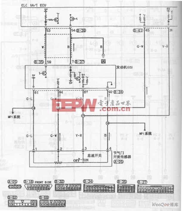 东南菱帅轿车自动变速器电路图七