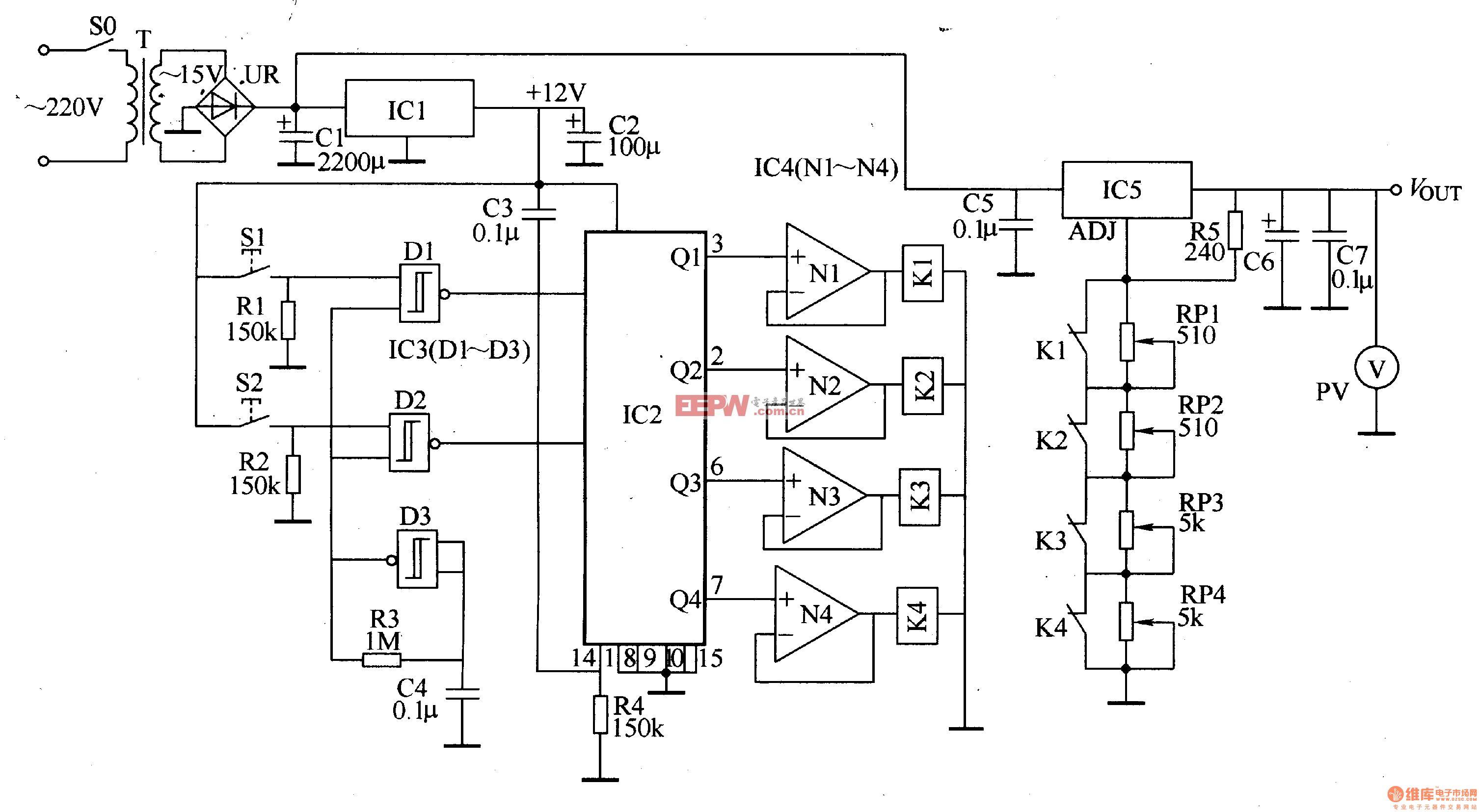 数控直流稳压电源七图片