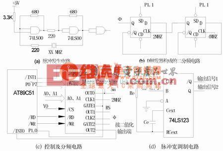 一种基于单片机的新型线阵CCD电路图