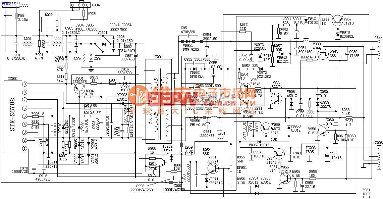 A3规格电源电路图