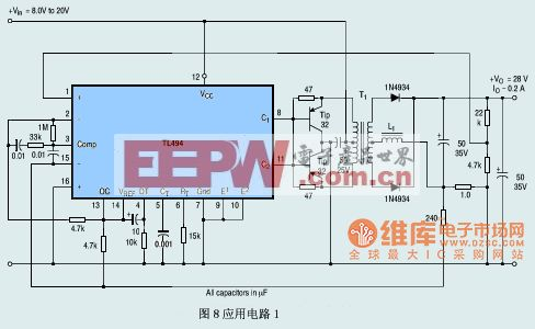 使用TL494的简易逆变器电路图