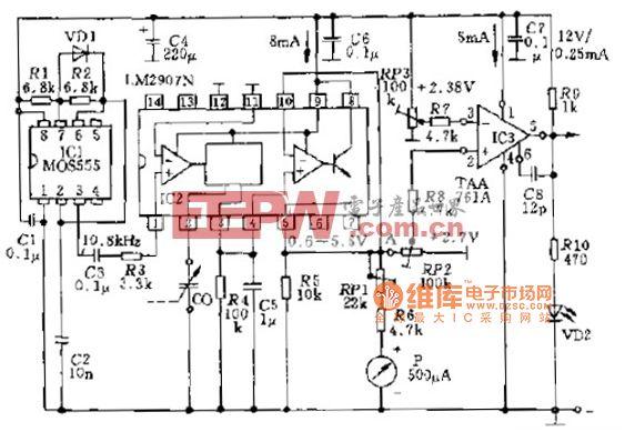 F V变换电路原理图图片