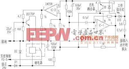 康明斯柴油機水箱水位傳感器電路圖