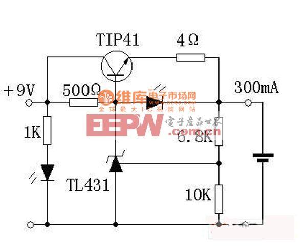 简单实用的锂电充电器图