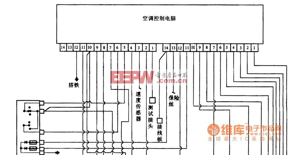 空调电路图_格力空调电路图; 空调电路图 捷达空调电路图 汽车空调