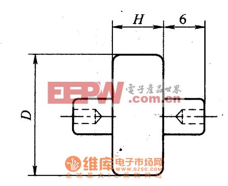 MYL21型防雷用氧化锌压敏电阻器外形电路图