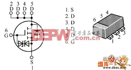 HAT2206C、HAT2207C、HAT2221C、HAT1108C内部电路图