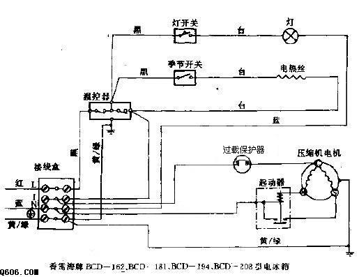 """在家庭电路中,电冰箱与电视机之间是______的(选填""""串联""""或""""并联"""")"""