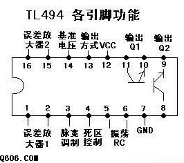 TL494制作的汽车低音炮电路图