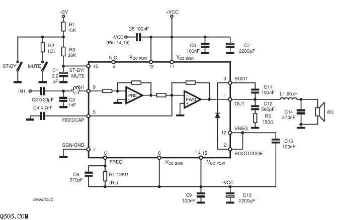 tda7481功放电路图