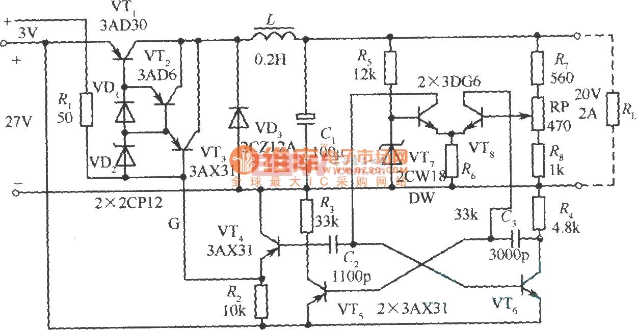 降压斩波电路输出电压一直不变为什么呢?