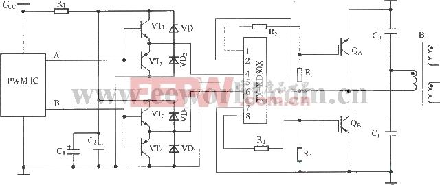 tx-kd301的应用接线图驱动器