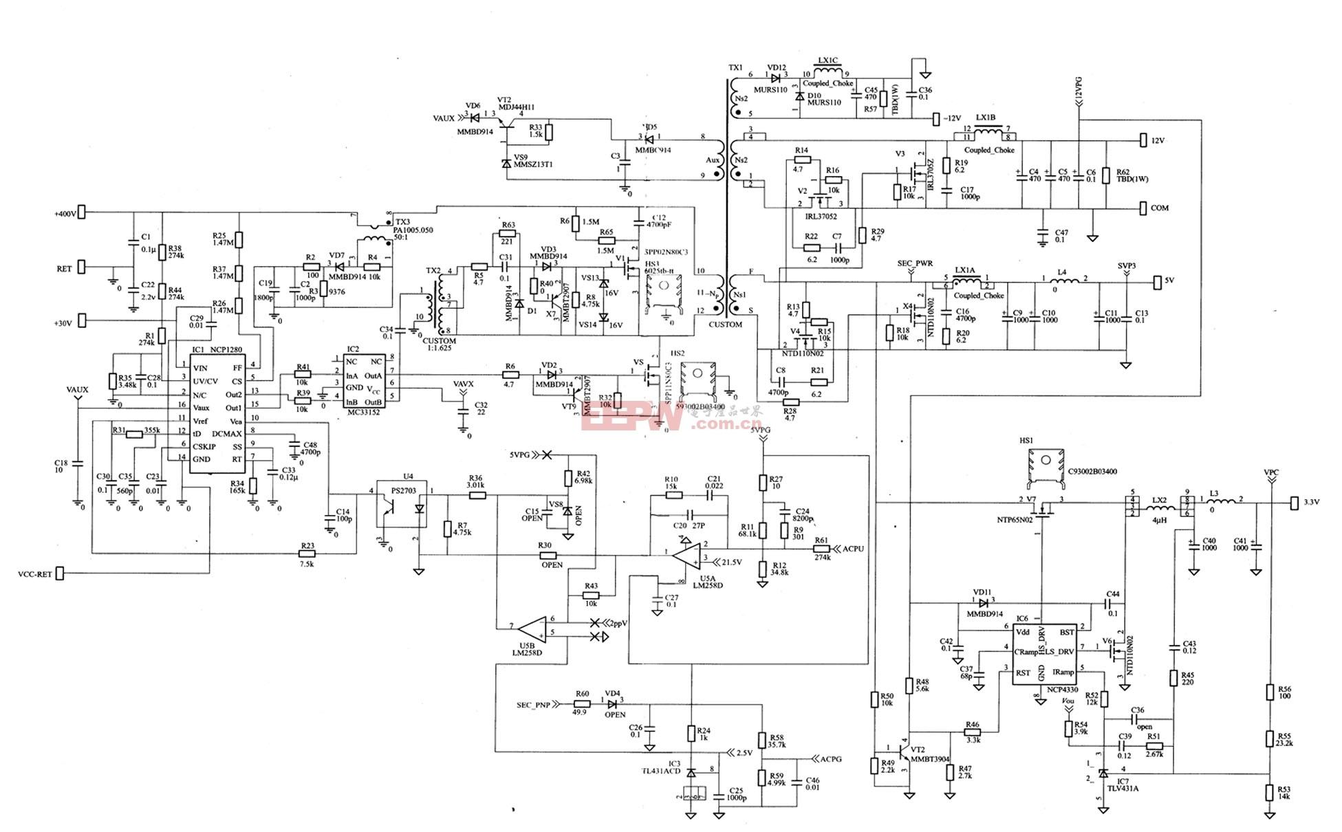 电路 电路图 电子 原理图 1951_1210
