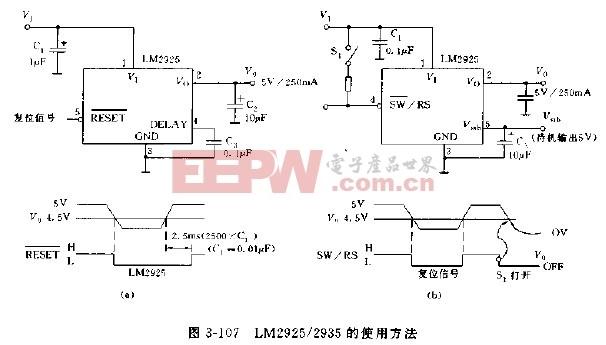 LM2925/2935的使用方法
