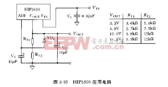 HIP5600的应用电路图