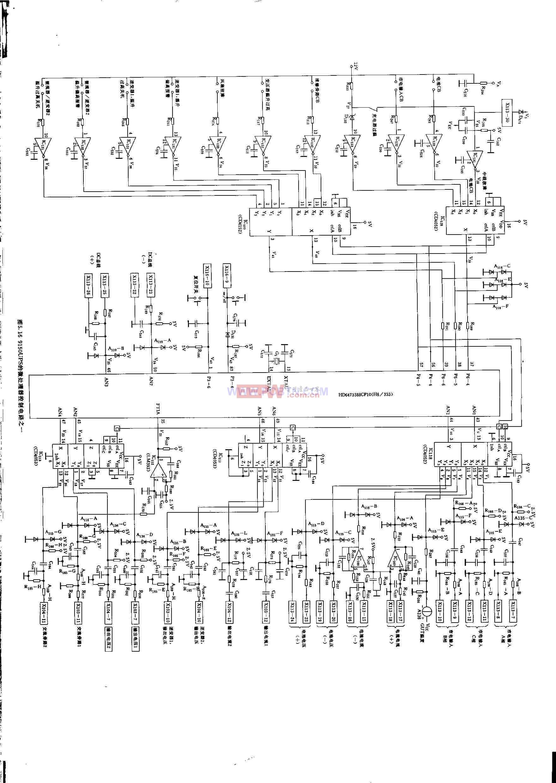 9150UPS的微处理器控制电路