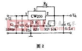 CW200基本应用电路