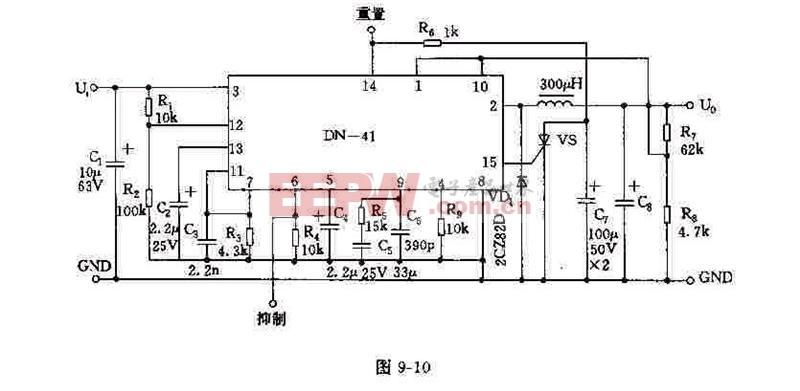 DN-41的典型应用电路图