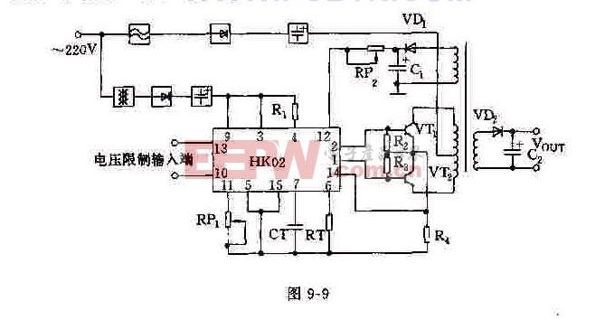 NK02的基本外围元件及电路图