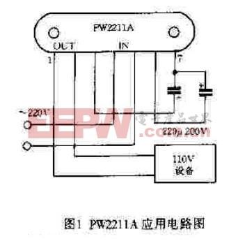 PW2211系列应用