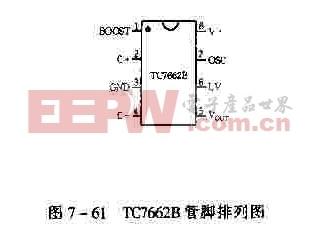 TC7662B管脚排列图