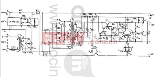 ACDC逆变电源电路图