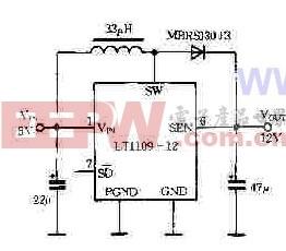 LT1109的应用电路图