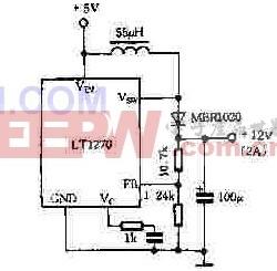 LT1270的应用电路图