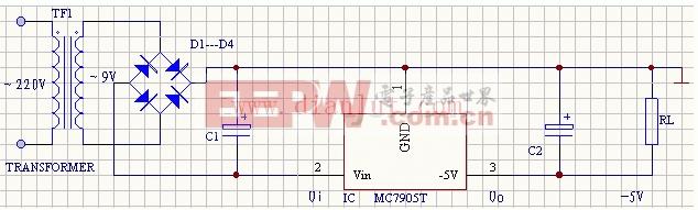 电路/集成稳压器还可以用作恒流源。下图为78XX稳压器构成的恒流源...