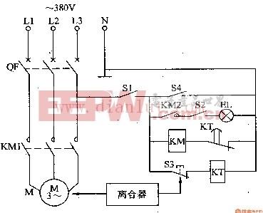 电动缝纫机空载节能器电路图二