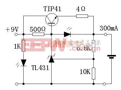 简易锂电充电器电路