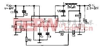介绍IP3842N芯片的典型应用电路 -其他电源电路图
