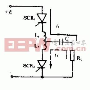 晶闸管串联逆变器电路
