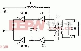 晶闸管并联逆变器电路原理图