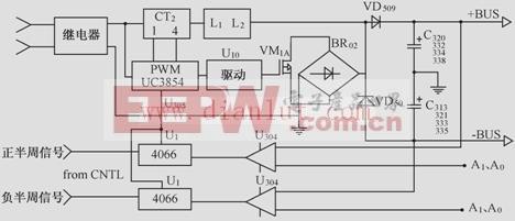 基于UC3845芯片设计功率因数校正电路