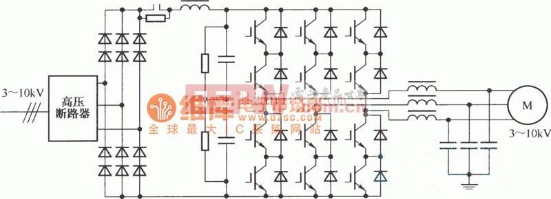 高压变频器的拓扑电路