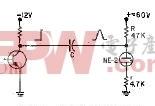 基于低压晶体管激励的氖管读出器电路图