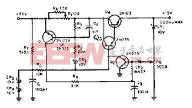 简易电流可调型过载保护电路