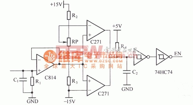 IGBT过电流保护电路原理电路原理图