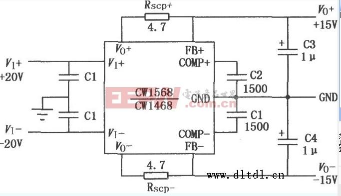 独特优势的多端固定对称稳压器