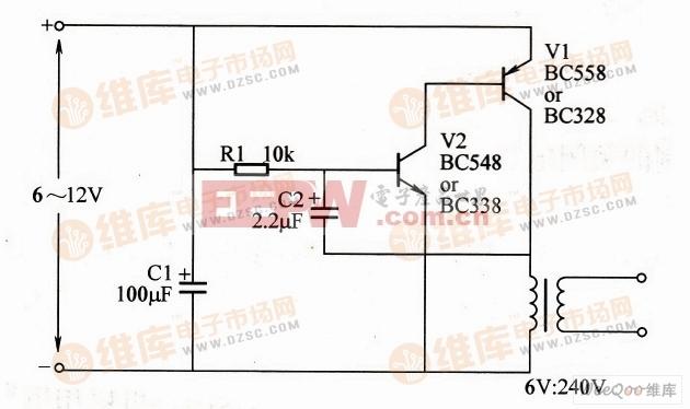 高压发生器电路