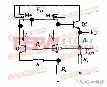 传统的高压基准电路