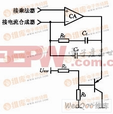 电流放大器的箝位电路