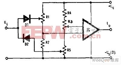 用电压比较器(运放)把正弦波转换为方波时为什么输出的方波上下幅值