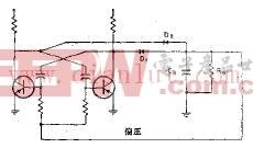 攻进后的自激多谐振荡器电路原理图