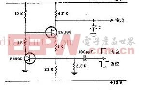 新型電容負載不失控的觸發器電路原理圖