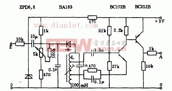 基于变容二极管的LC多谐振荡器电路原理