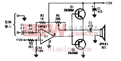 音频功率放大器电路的应用